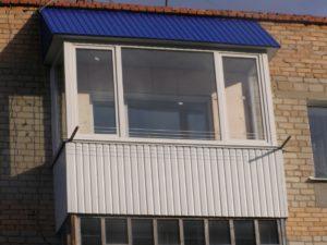 Балкон под ключ с отделкой