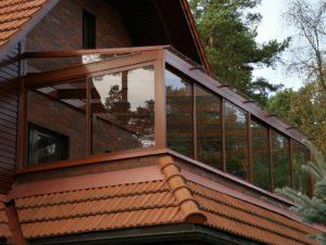 Балкон в частный дом