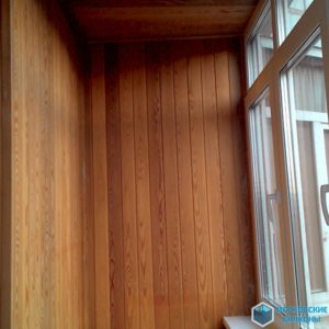 Отделка деревянной вагонки